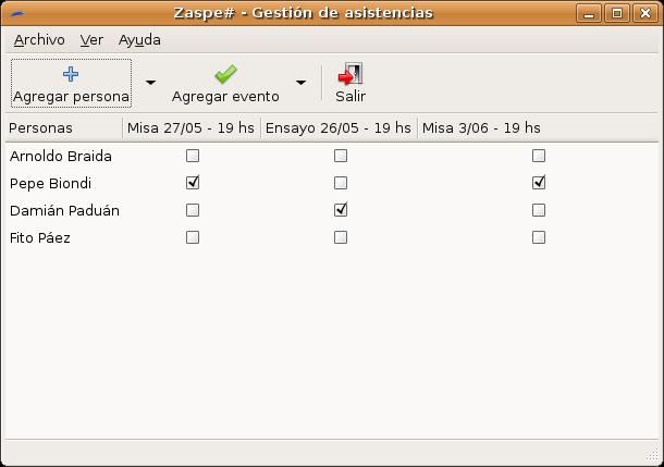 ZaspeSharp en GNU/Linux